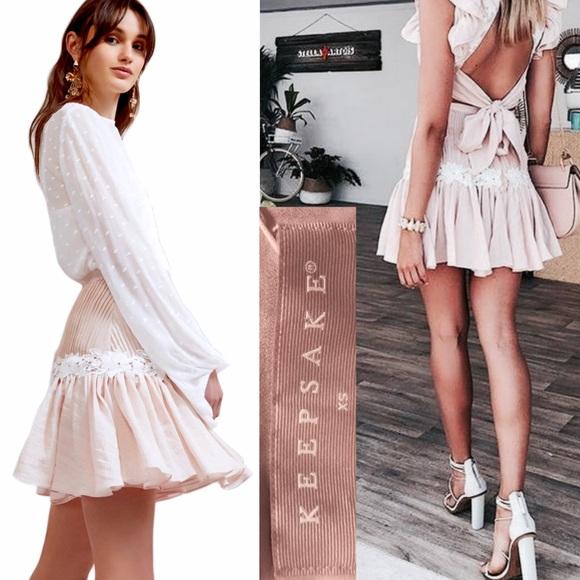 780e2e857167 KEEPSAKE the Label Dresses & Skirts - NWOT KEEPSAKE THE LABEL All Mine Shell  mini skirt